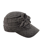 Кепка BETMAR арт. B523 Ridge Flower Cap (серый)
