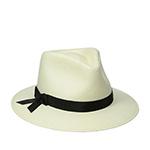 Шляпа BETMAR арт. B1609H LAURA II (белый / черный) {ivory.black}
