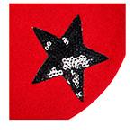 Берет LAULHERE арт. GALA (красный)