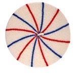 Берет LE BERET FRANCAIS арт. MARINIERE (кремовый / синий / красный)