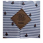 Бейсболка DJINNS арт. 6P SB Anchor Sailing (голубой)