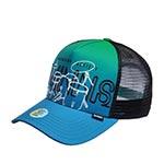 Бейсболка DJINNS арт. HFT Drums (голубой)