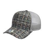 Бейсболка DJINNS арт. HFT Bubble Tweed (серый)