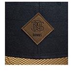 Бейсболка DJINNS арт. 6P SB Glencheck (темно-синий)