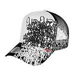 Бейсболка DJINNS арт. HFT Bombing (черный / белый)