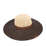 Шляпа CHRISTYS арт. FLORENCE csk100304 (бежевый / черный)