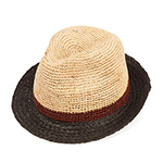 Шляпа CHRISTYS арт. TRURO csk100305 (бежевый / черный)
