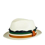 Шляпа CHRISTYS арт. CARNABY cpn100415 (белый) {bleached}