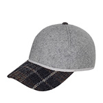 Бейсболка CHRISTYS арт. KIT BALL CAP TWEED csk100372 (серый)