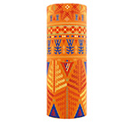 Шарф HERMAN арт. TECH A S18 Ethno orange (оранжевый)