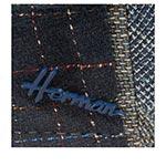 Кепка HERMAN арт. BOXER PATCH (синий)