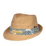 Шляпа HERMAN арт. DON SATO (бежевый / синий)