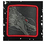 Бейсболка CAPSLAB арт. CL/DBZ/TAG/1/SHE Dragon Ball Shenron (черный / красный)