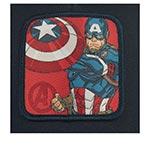 Бейсболка CAPSLAB арт. CL/MAR/3/CPT1 Junior Marvel Captain America (темно-синий)