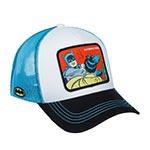 Бейсболка CAPSLAB арт. CL/DC2/1/MEM4 DC Comics Batman and Robin (белый / голубой)