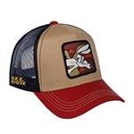 Бейсболка CAPSLAB арт. CL/LOO/1/COY2 Looney Tunes Wile E. Coyote (коричневый)