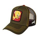 Бейсболка CAPSLAB арт. CL/LOO2/1/TIT2 Looney Tunes Tweety Pie (оливковый)