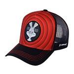 Бейсболка CAPSLAB арт. CL/LOO3/1/BUG1 Looney Tunes Bugs Bunny (красный / черный)