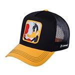 Бейсболка CAPSLAB арт. CL/LOO3/1/DUK Looney Tunes Daffy Duck (черный / желтый)