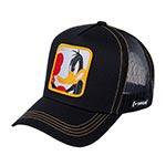 Бейсболка CAPSLAB арт. CL/LOO3/1/DUK2 Looney Tunes Daffy Duck (черный)
