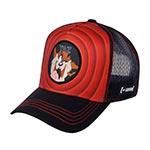 Бейсболка CAPSLAB арт. CL/LOO3/1/TAZ1 Looney Tunes Taz (красный / черный)