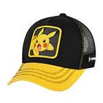 Бейсболка CAPSLAB арт. CL/PKM2/3/PIK6 Junior Pokemon Pikachu (черный / желтый)